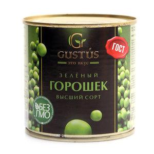 Горошек зеленый высший сорт ТМ Gustus (Густус)