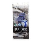 Станки одноразовые бритвенные мужские ТМ Raider (Райдер), 5 шт