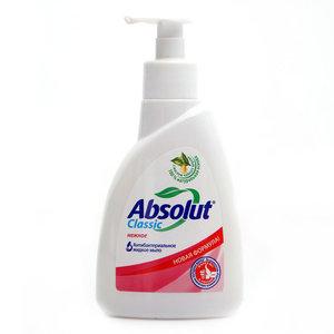 Мыло жидкое антибактериальное нежное ТМ Absolut (Абсолют)