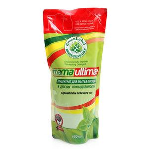 Концентрат для мытья посуды с ароматом зеленого чая ТМ Mama Ultimate (Мама Ультимейт)