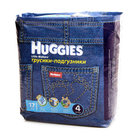 Трусики-подгузники (9-14 кг) размер 4 ТМ Huggies (Хаггис), 17 шт