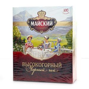 Черный чай в пакетиках ТМ Майский