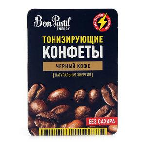 Конфеты тонизирующие чёрный кофе ТМ Bon Pastil Energy (Бон Пастил Энерджи)