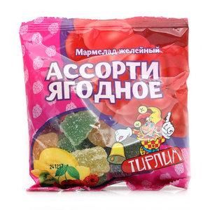 Мармелад желейный Ассорти Ягодное ТМ Тирлим