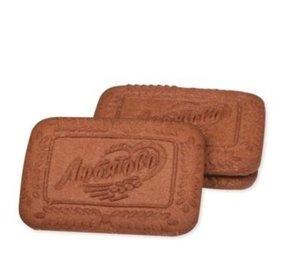 Печенье шоколадное сахарное