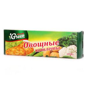 Овощные котлеты ТМ Морозко Green (Гриин)
