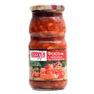 Фасоль с овощами По-итальянски ТМ Еко (Эко)