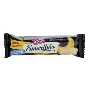 Батончик с высоким содержанием белка банан в темной глазури ТМ Smartbar (Смартбар)