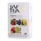 Чай черный байховый ароматизированный ТМ Jaf Tea (Джав Тиа), 20*1,5г