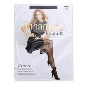 Колготки Bella (Белла) цвет: nero/черный, размер 5, 40 den ТМ Innamore (Иннаморе)