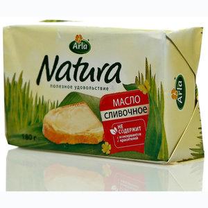Масло сливочное несоленое Natura (Натура) 82% ТМ Arla (Арла)