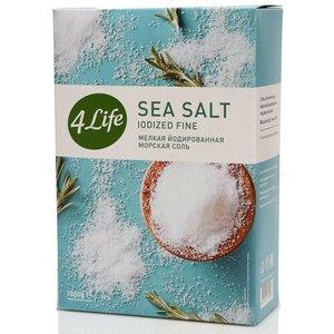 Соль мелкая йодированная морская ТМ 4 Life (Фо Лайф)