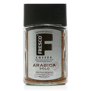 Кофе растворимый Arabica Solo сублимированный (Арабика Соло) ТМ Fresco Coffee (Фреско Кофе)