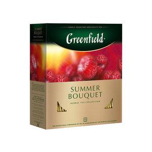 Чайный напиток  Summer Bouquet (Саммер Буквит) в пакетиках 100*2г ТМ Greenfield (Гринфилд)