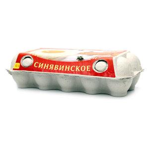 Яйцо куриное К завтраку С1 10 шт ТМ Синявинское