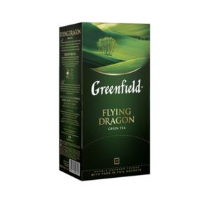 Чай зеленый Flying Dragon  (Флуинг Драгон) в пакетиках 25*2шт ТМ Greenfield (Гринфилд)