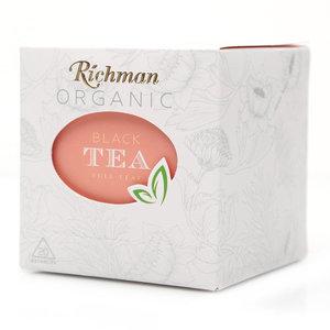 Чай черный в пакетиках ТМ Richman organic (Ричман органик)