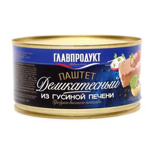 Паштет из гусиной печени ТМ Главпродукт