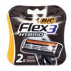 Сменные кассеты для бритья ТМ Bic Flex 3 Hybrid (Бик Флекс Гибрид)