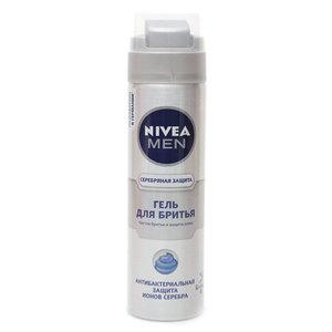 Гель для бритья серебряная защита антибактериальный ТМ Nivea (Нивея)