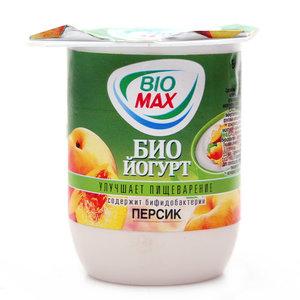 Йогурт (БиоЙогурт) 5 витаминов + персик 2,5% ТМ BioMax (БиоМакс)