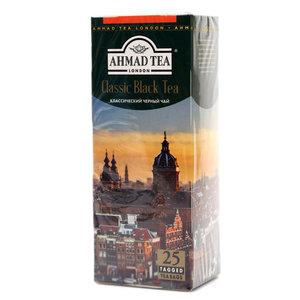 Чай черный классический 25*2г ТМ Ahmad Tea (Ахмад Ти)