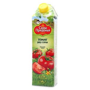 Сок томатный без соли ТМ Сады Придонья