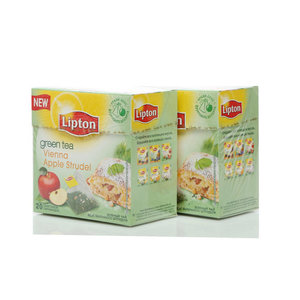Чай зеленый 2*20*1,4г ТМ Lipton (Липтон) vienna apple strudel