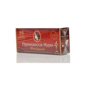 Чай черный цейлонский байховый ТМ Принцесса Нури отборный, 25 пакетиков