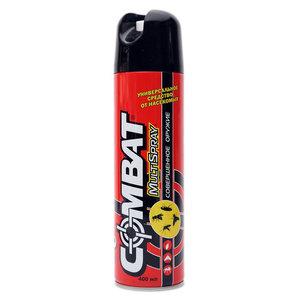 Универсальное средство от насекомых Combat MultiSpray с запахом лимона ТМ Combat (Комбат)