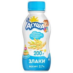 Йогурт - злаки ТМ Агуша