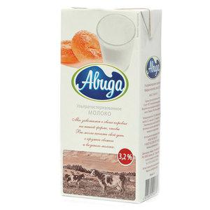 Молоко ультрапастеризованное 3,2% ТМ Авида