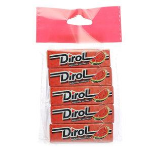 Жевательная резинка Арбузная свежесть ТМ Dirol (Дирол), 5*13,6г