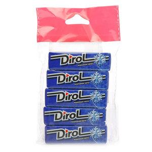 Жевательная резинка Морозная мята ТМ Dirol (Дирол), 5*13,6г