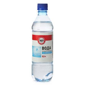 Вода питьевая артезианская негазированная ТМ 365 Дней