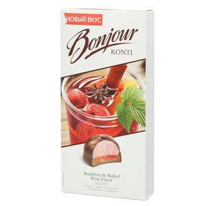 Десерт со вкусом глинтвейн с малиной ТМ Bonjour (Бонжур)