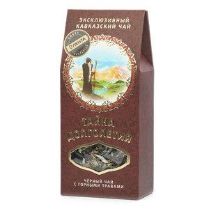 Напиток на основе черного чая тайна долголетия ТМ ЭкоКавказа