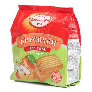 Печенье с грушей брусочки ТМ Брянконфи
