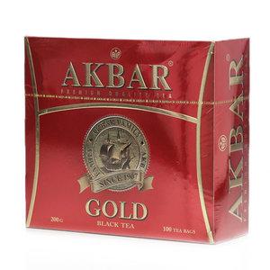 Чай черный мелкий в пакетиках ТМ Akbar (Акбар), 100*2г