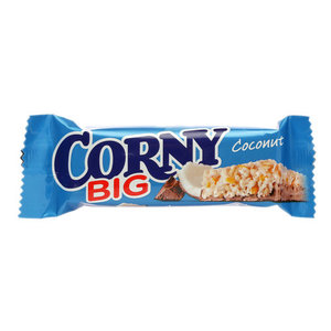 Полоска злаковая с молочным шоколадом и кокосом ТМ Corny (Корни)