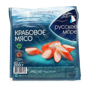 Крабовое мясо имитация ТМ Русское Море