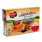 Торт медовик шоколадный ТМ Русская нива