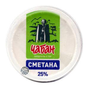 Сметанка 25% ТМ Чабан