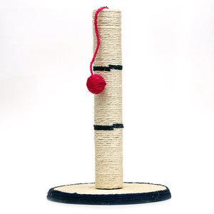 Когтеточка из сизаля Столбик с шариком ТМ Triol (Триол)