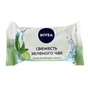 Мыло увлажняющее Свежесть зеленого чая ТМ Nivea (Нивея)