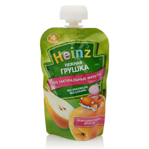 Пюре фруктовое Нежная грушка ТМ Heinz (Хайнц)