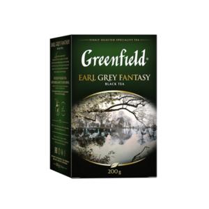 Чай черный Earl Grey Fantasy (Эарл Грей Фэнтэзи) листовой ТМ Greenfield  (Гринфилд)