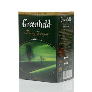 Чай зеленый Flying Dragon (Флуинг Драгон) листовой ТМ Greenfield (Гринфилд)