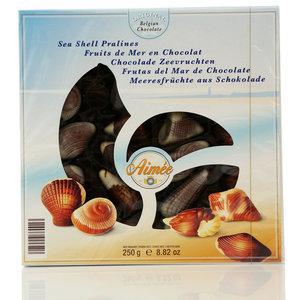 Конфеты из горького, молочного, белого шоколада с начинкой пралине ТМ Aimee (Айми)