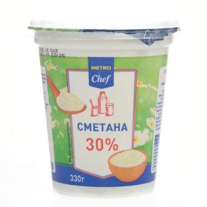 Сметана 30% ТМ METRO Chef (МЕТРО Шеф)
